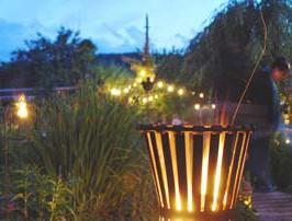 Gärten bei Nacht erleben