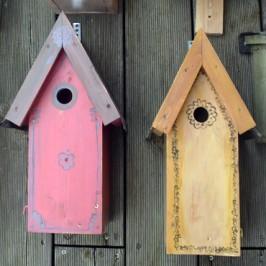 Vogelhäuschen- Nistkästen für unseren Garten