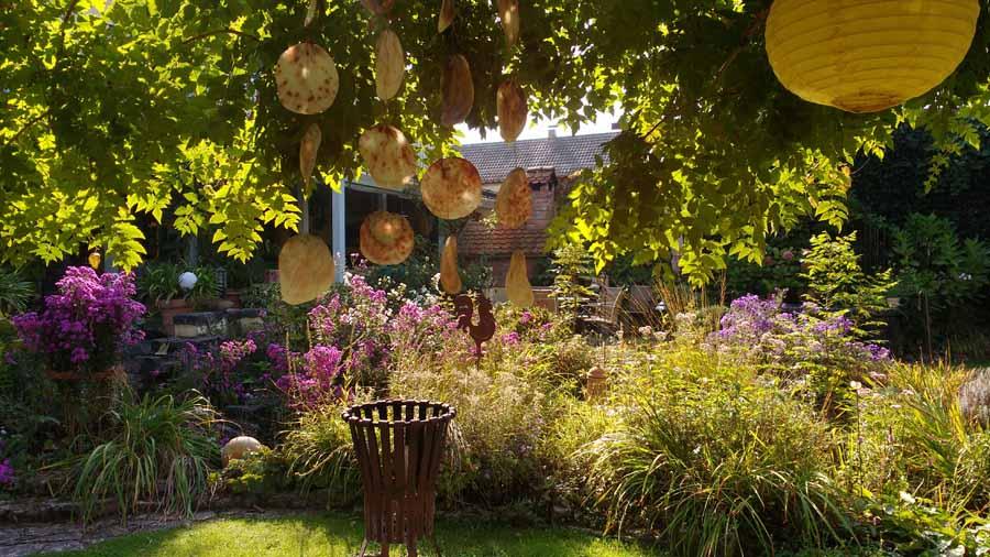 Gartenführung im Spätsommer